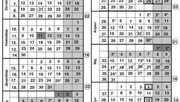 Школски календар 2020/2021.